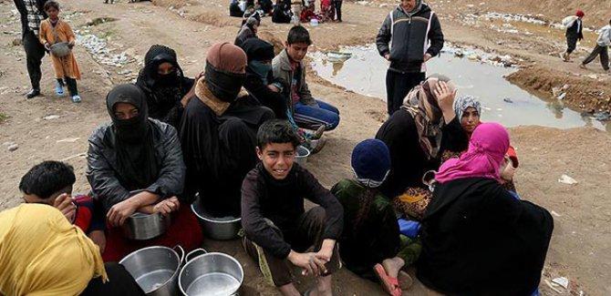 """Musul'da sivillere havadan yardım yapılsın"""""""