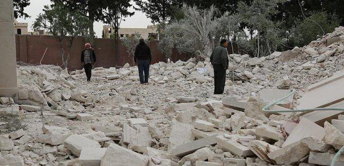 Suriye'de Halep'in batı kırsalına füze saldırısı