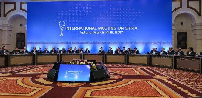 Astana'daki Suriye görüşmelerine tüm taraflar katılacak