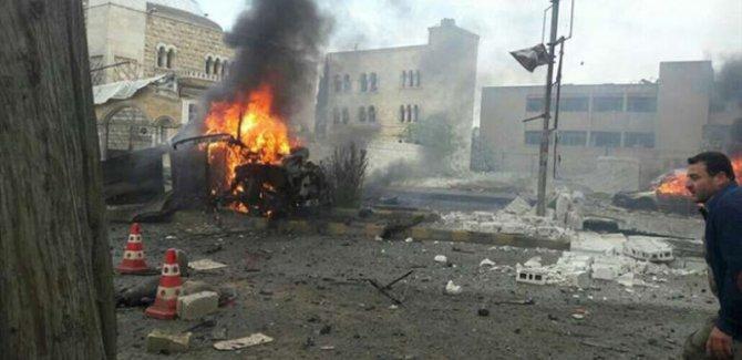 Azez'de intihar saldırısı; 5 ölü, 10 yaralı