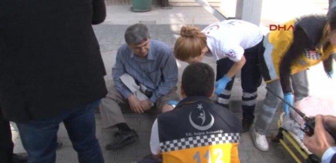 Aranan emniyet müdürü vurularak yakalandı