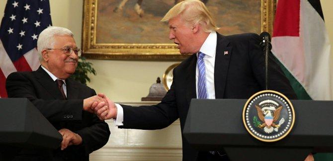 Trump: İsrail ile Filistin arasında arabulucuğa hazırım