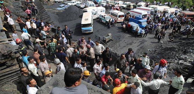 İran'da maden faciası nedeniyle 3 gün yas ilan edildi