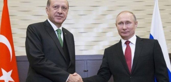 Erdoğan: Putin, Suriye'de Kürt devletine olumlu bakmıyor