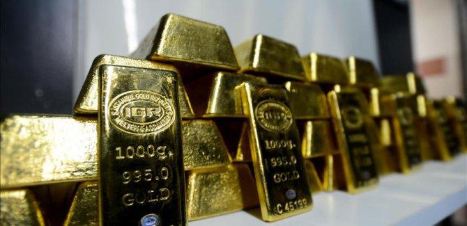 Altının gramı yaklaşık 4 ayın en düşüğünde
