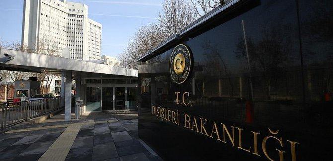 Dışişleri Bakanlığından 'çatışmasızlık bölgeleri' açıklaması