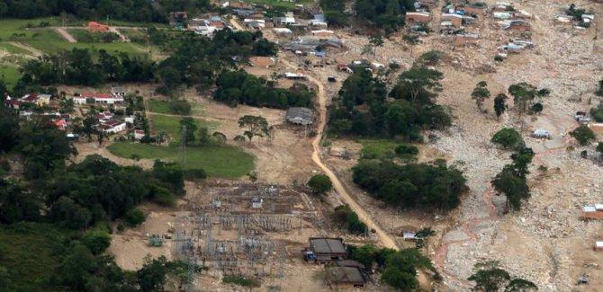Kolombiya'daki Sel 370 Ölü