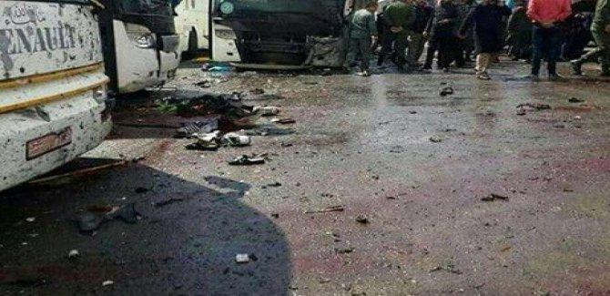 Şam'da büyük patlama!