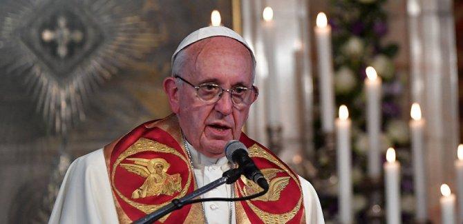 Papa Francis: 'Bombaların anası' beni utandırdı