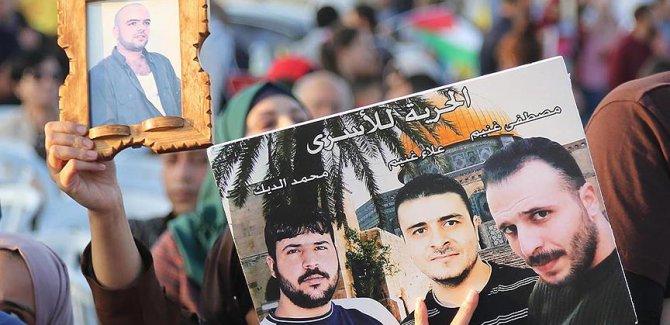 Fas'ta Filistinli tutuklulara 'destek grevi'