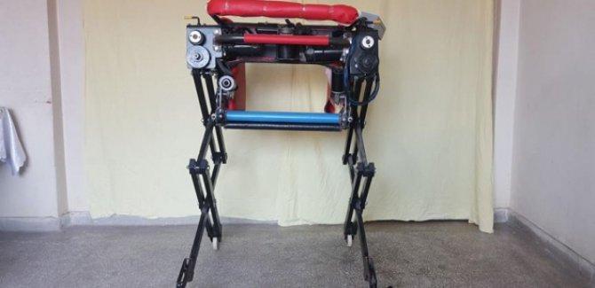 'Robotik sandalye' hastaların yüzünü güldürecek