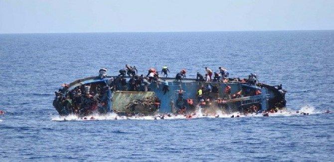 Akdeniz'de Göçmen Faciası 250 Kayıp