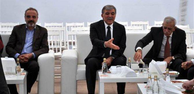 Ahmet Türk ve Sırrı Sakık'tan Gül'e Taziye