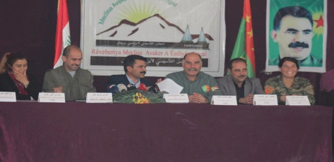 PKK'den Bağdat'a: Şengal Irak'a bağlı, Peşmergeyi çıkartın