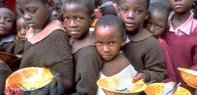 Güney Sudan'da 1 milyon çocuk ülkeyi terk etti