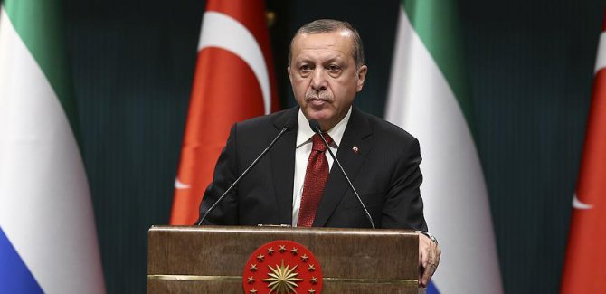 Erdoğan: Endişelerimizi Trump'a bizzat ifade edeceğim