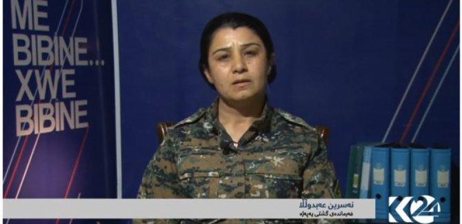 YPJ komutanı: Silahları Türkiye'ye karşı kullanmayacağız