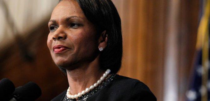 Rice: Irak'a demokrasi getirmek için değil, Saddam Hüseyin'i devirmek için gittik