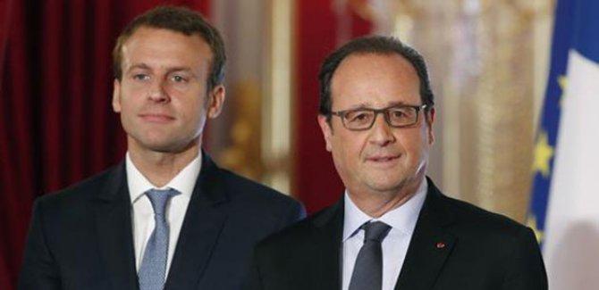 Macron bugün Hollande'dan görevi devralıyor