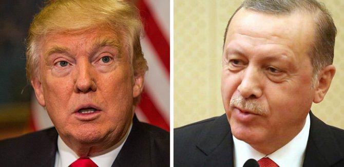 YPG krizi gölgesinde Trump'la ilk buluşma
