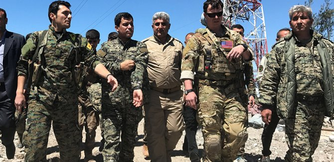 ABD'li yetkili: YPG'yle geçici bir ilişkimiz var