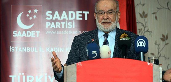 Saadet Partisi lideri Karamollaoğlu: Darbenin arkasında sadece FETÖ değil, ABD de var