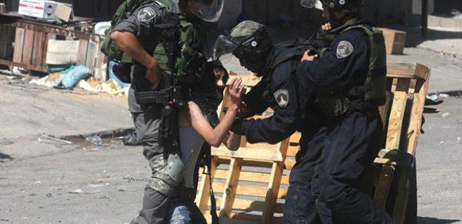 İsrail'den Filistinli göstericilere müdahale: 42 yaralı