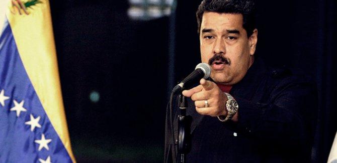 Maduro'dan, Trump'a: 'Çek o pis ellerini buradan'