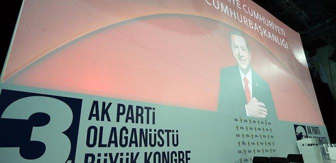 AK Parti'de 3. Olağanüstü Büyük Kongre Başladı