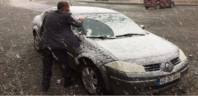 Van'da kar sürprizi