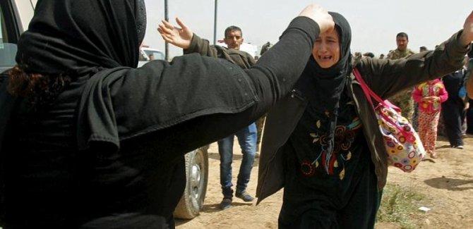 3 Ezdi kadın daha IŞİD'in vahşetinden kurtarıldı