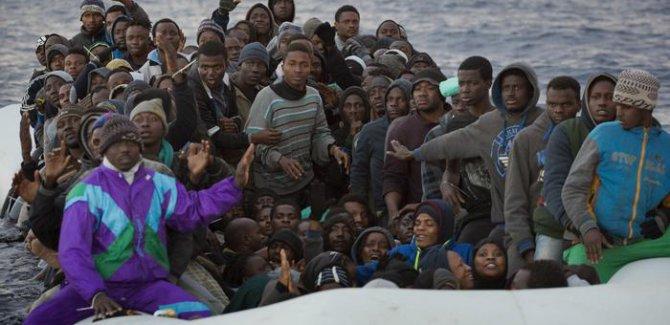 Milyonlarca mülteci Avrupa yolunda
