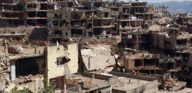 Sur'da yıkıma başlandı