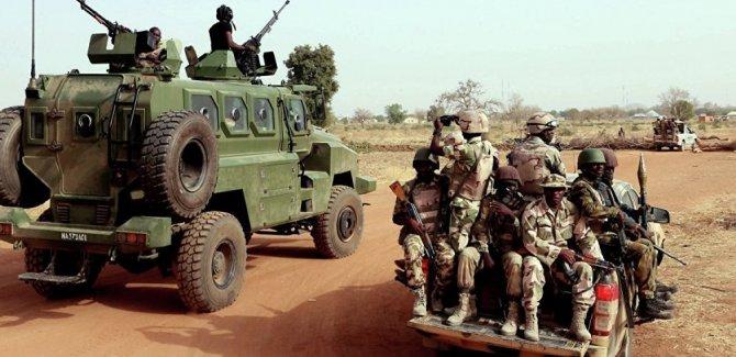 Nijerya, Türkiye'den gelen silah yüklü gemiye el koydu