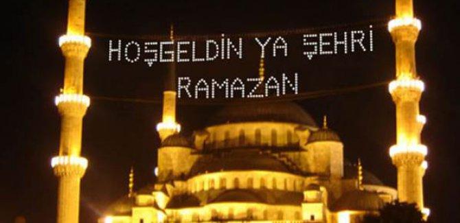 Ramazan ayı başlıyor... İlk teravih ve ardından ilk sahur bugün