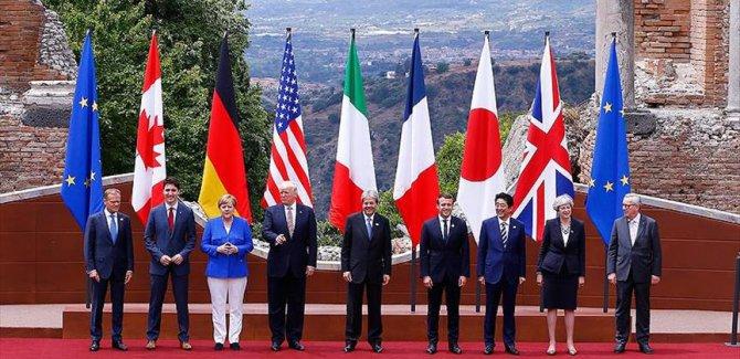 Sömürgeci ve Gelişmiş 7 ülkenin liderleri İtalya'da buluştu