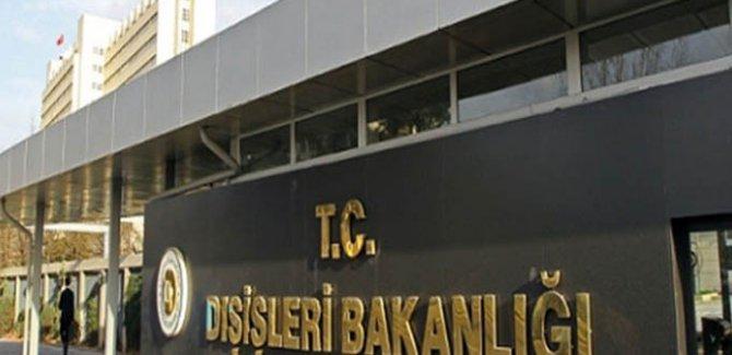 Türkiye'den ABD Kongresi'ndeki kınama kararına yanıt