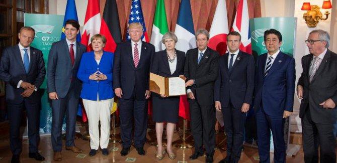 G7'de uzlaşmaya Donald Trump engeli