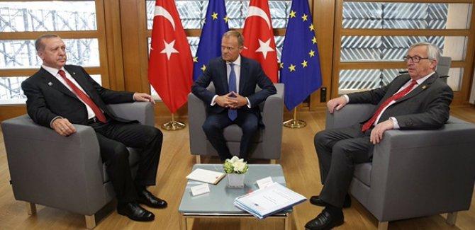 Erdoğan: AB liderlerinden 12 aylık takvim aldık