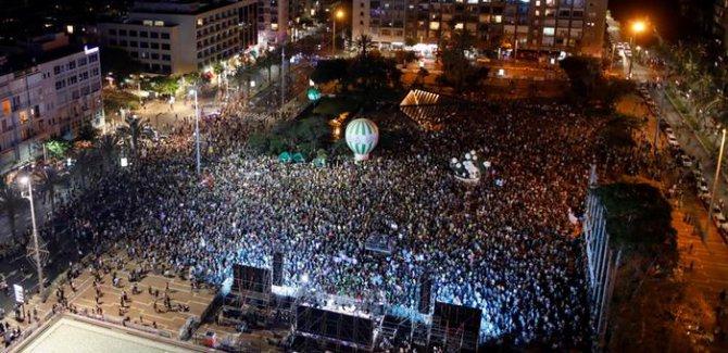 Biraz Vicdanlı İsrail'liler Sokağa Çıktı