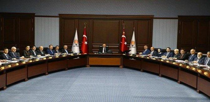 AK Parti'nin yeni 'A Takımı' belli oldu