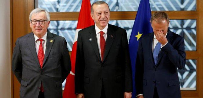 Reuters: Erdoğan-AB görüşmesi olumlu geçti
