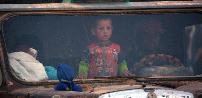 Rakka'dan sivillerin kaçışı başladı
