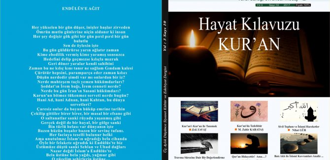 ÖZE DÖNÜŞ Dergisi 10.Sayı çıktı