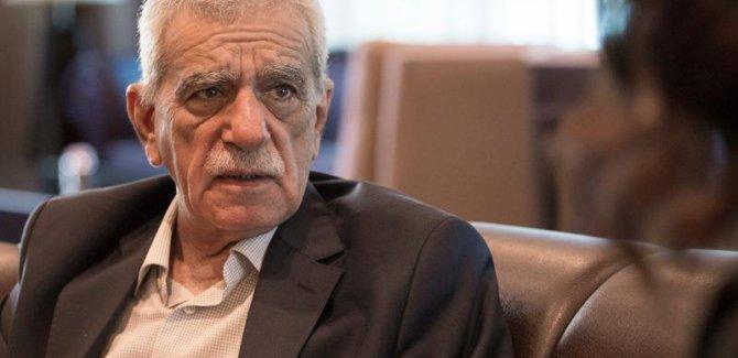 Ahmet Türk; Kürdistan Devleti Kürtlerin Tarihi Hasretidir.