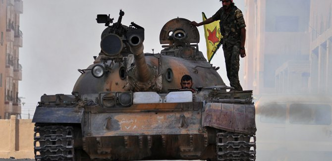 YPG sözcüsü Mehmud: ÖSO'dan YPG'ye katılımlar var