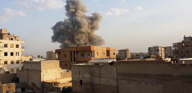 Suriye'de IŞİD'e yönelik saldırıda 50 sivil öldü