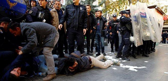 Ankara'da eylem: 26 gözaltı