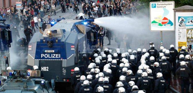 G20 protestoları devam ediyor