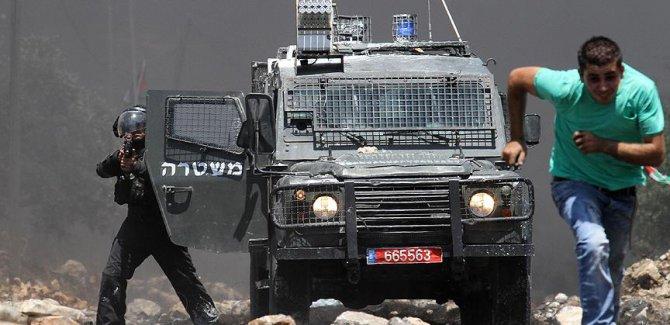 Siyonist rejim Batı Şeria'da gösterilere müdahale etti